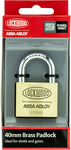 Lockwood 40mm Solid Brass 110 Series Padlock $10 (Was $19.94) @ Bunnings