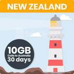 25% off - New Zealand Travel SIM Card with 10GB Data + Calls/Text to Oz - AU $36.75 + Free Shipping @ SimsDirect Sydney