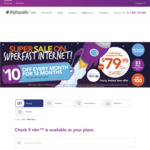 MyRepublic - NBN 100/40mbps $79.95 Per Month for The First 12 Months