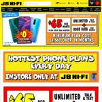 Oppo R17 Pro - Telstra 80GB Data + Unlim Talk & Text $65/Month (24 Months) @ JB Hi-FI (Port in)