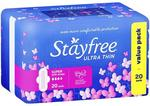 Stayfree Ultra Thin Super with Wings 20 Pads $3.63 (Was $6.99) @ Chemist Warehouse