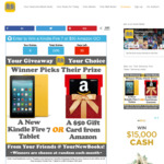 Win a New Kindle Fire 7 or $50 Amazon Gift Card from YourNewBooks