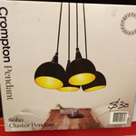 [VIC] Crompton Pendant Lights $30 (Was $156.50) @ More @ Bunnings Warehouse Mentone