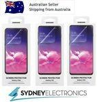 Genuine Original Samsung Galaxy S10e / S10 / S10+ Film Clear Screen Protector $18.65 Free POST @ Sydney Electronics eBay