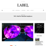 Win a Pair of Maui Jim Men's or Women's Sunglasses from Label Magazine