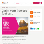 [WA] Get a Free $50 Fuel Card with Any Purchase on Sundays 12-5pm @ Mandurah Forum [Must Live More than 40km Away, First 75/Day]