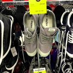 Grey Volley Shoes $5 (Was $39) @ BIG W