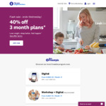 Weight Watchers - 40% off 3 Month Plans