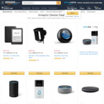 Save up to $50 on Echo Devices, $40 on Kindle E-Readers, $80 on Ring Doorbell + Delivery (Free with Prime/ $49 Spend) @Amazon AU