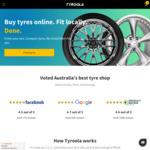 All Tyres 10% off @ Tyroola.com.au