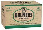 [eBay Plus] Bulmers Pear Cider 24x 330ml Bottles $25 Delivered @ CUB eBay