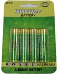 Winpowa AA / AAA Alkaline Battery 4pk $2 + $2 Delivery @ Shopnotch