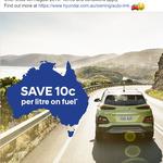 Save 10c Per Litre on Fuel, Use The Hyundai Auto Link App @ Caltex