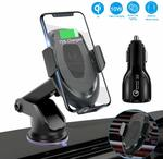 FUNUSE Wireless Car Charger Mount Car Phone Holder $25.42 (25% off) + Delivery ($0 with Prime/ $39 Spend) @ FUNUSE Amazon AU