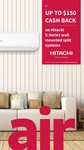 Bonus $50 to $150 VISA Gift Card with Selected Hitachi S-Series Reverse Cycle Air Conditioner @ Hitachi via Selected Sellers