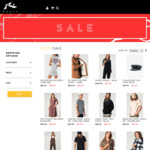 40% off Seasonal Clothing Including Tops, Jackets, Dresses, Pants, T-Shirts @ Rusty