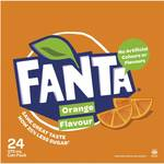 24 Pack of Fanta or Sprite 375ml Cans - $11 @ Woolworths