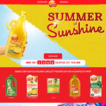 Win 1 of 2500 $50 Sunnylife Gift Vouchers from Golden Circle