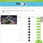 [VIC] $25 Adult Tickets to Monster Jam Monster Trucks at Melbourne AAMI Park Saturday 5 October 2pm (Face Value $39) via Supatix
