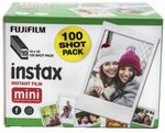 100 Sheet Fujifilm Instax Mini Film for $76 @ Officeworks