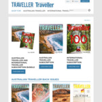Australian Traveler Magazine Subscriptions - 4 Issues for $22.95 (Was $27.95), 8 Issues for $43.95 (was $49.95)