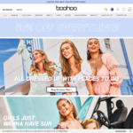50% off Sitewide (Excludes Sales and Selected Lines) @ boohoo