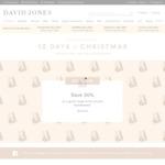 30% off Selected Homewares @ David Jones