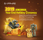 Win a Sapphire Nitro+ RX 5700 XT GPU & Swag Pack or 1 of 9 Swag Packs from Sapphire Technology