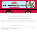Win 1 of 876 $100 Rebel Vouchers from Kellogg Australia [Purchase Any Kellogg's Cereal or Snack Product]