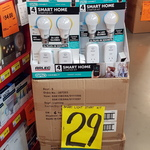 Arlec Smart Starter Kit with Grid Connect - 2x Smart A60 BC LED Globes and 2x Smart Plug in Sockets $29 in-Store @ Bunnings