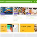 Groupon 15% Cashback @ Cashrewards (+ Stack with up to 30% off Sitewide @ Groupon)