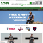 Free Shipping All Weekend @ VPA Australia