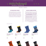 Free 2 Pairs Men's Socks for Doctors and Nurses @ Mitch Dowd
