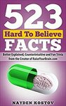 [eBook] Free - 523 Hard to Believe Facts: Better Explained, Counterintuitive and Fun Trivia @ Amazon AU/US