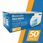 Jointown Face Mask with Ear Loops 3 Ply 50 Pack $49.95 @ Officeworks