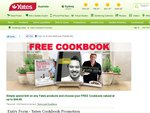 Free Cookbook (up to $49.95 Value) with $30 Purchase of Yates Products