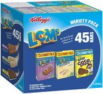 Kellogg's LCMs Variety 45 Bars $10 ($9 with S&S) + Delivery ($0 with Prime/ $39 Spend) @ Amazon AU