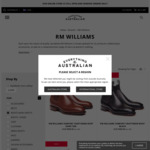 RM Williams Comfort Craftsman $460 + Delivery @ Everything Australian