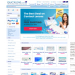 Quicklens 20% off Site Wide + Free Shipping on Orders $150+