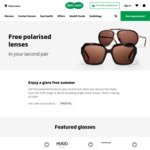 Free Polarised Lenses in Your Second Pair of Glasses @ Specsavers