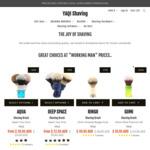 20% off Storewide (Min $50 Spend) + Free Shipping over $45 @ Yaqi Shaving Australia