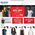 Gildan Contrast Hoodie $7 Delivered (RRP $50) @ Gildan Brands