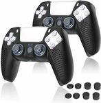 40% off Sony PS5 Controller Protective Covers & Grips $13.79 (Was $22.99) + Delivery ($0 with Prime/ $39 Spend) @ Seyarlh Amazon