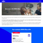 NRMA Blue Membership Free for 12 Months (Usually $60)