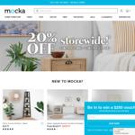 20% off Storewide @ Mocka