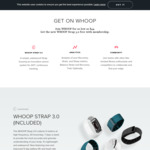Whoop (Fitness Tracker & Membership) First Month Free with 6 Months Subscription ($44/Month) + $22 Shipping @ Whoop