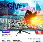 """Win a Philips 272M8 27"""" FHD 144Hz Gaming Monitor Worth $299 from Centre Com"""