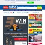 Win $25,000 or 1 in 10 McLaren Racing Merchandise Packs from Chemist Warehouse