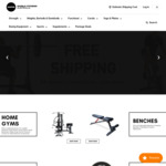 5% off Sitewide + Free Shipping on Select Products @ World Fitness
