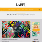 Win a $100 Skechers Voucher to Spend Online or in Store from Label Magazine